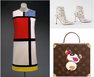 art meets fashion